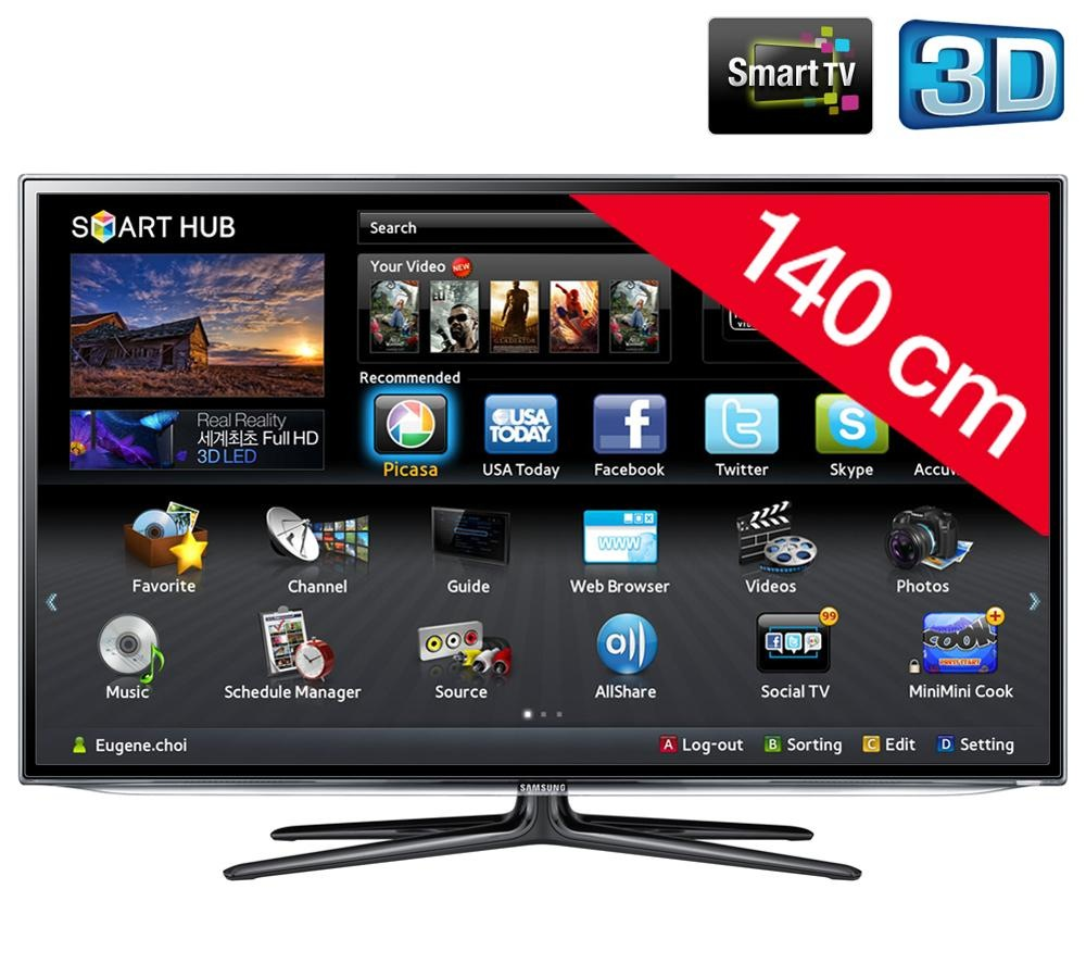 televiseur led Samsung UE55ES6300