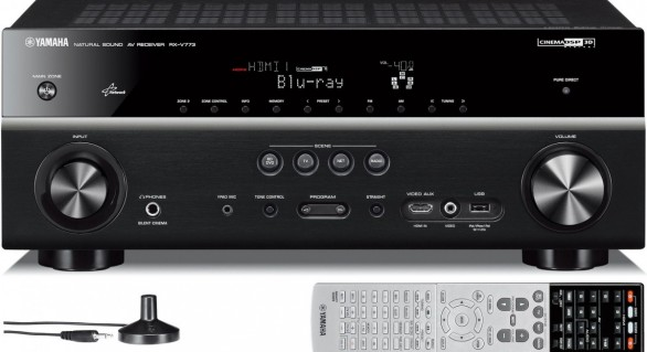 Bon plan : Ampli Home Cinéma 7.2 Yamaha RX-V773