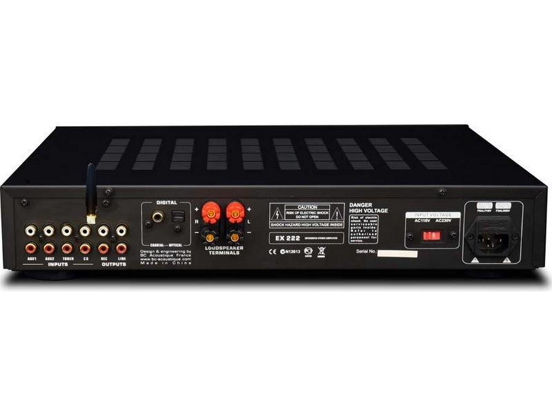 bc-acoustique-ex-222-connectique-face-arrière