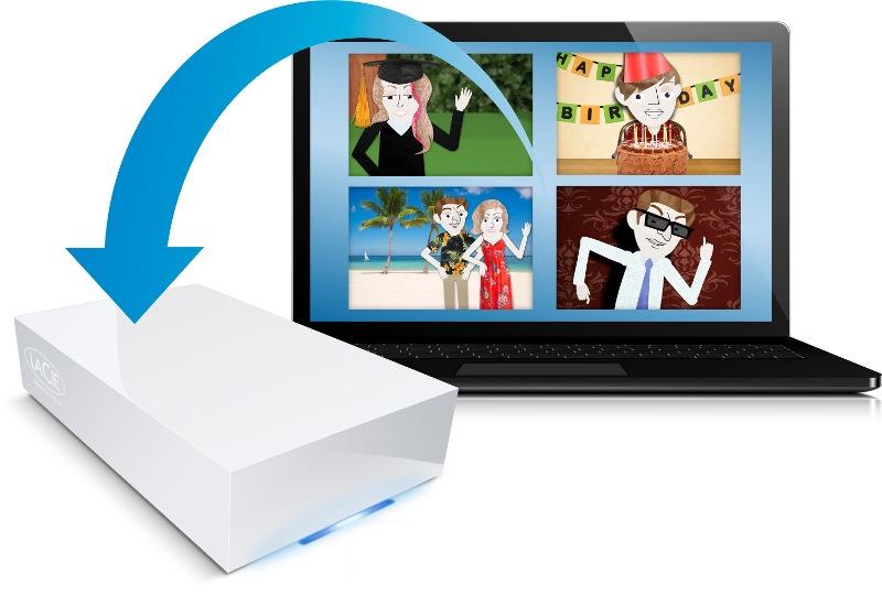 serveur NAS LaCie CloudBox