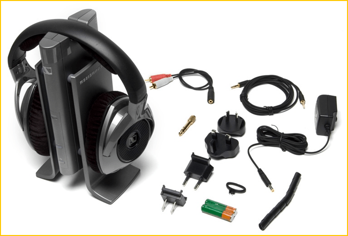 casque audion Unboxing-RS180