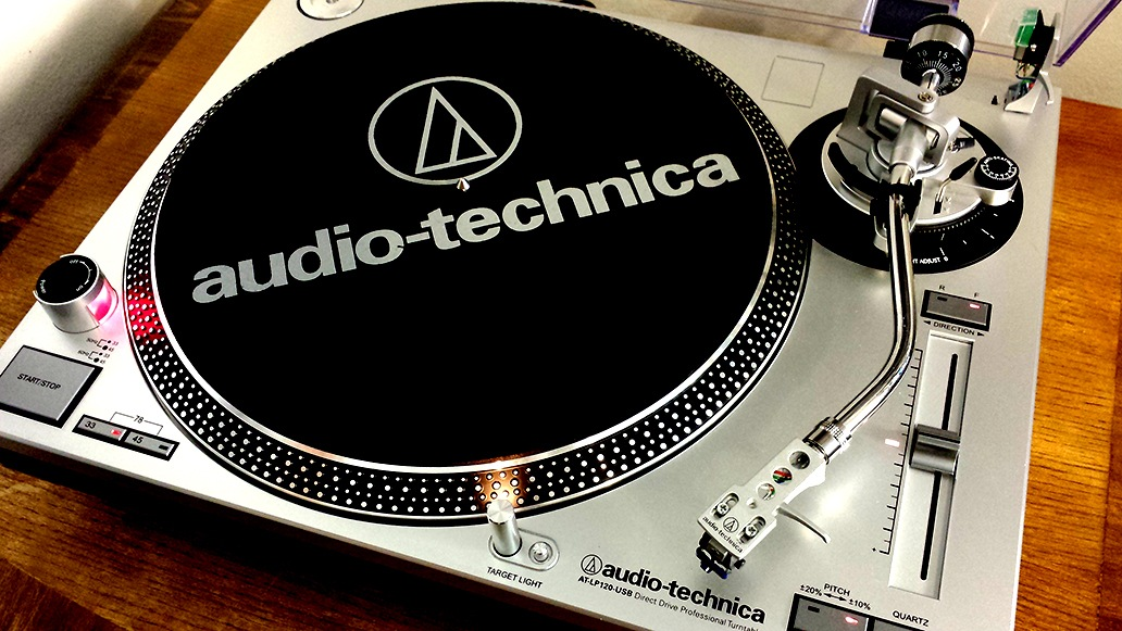 Audio-Technica AT-LP120-USB HC