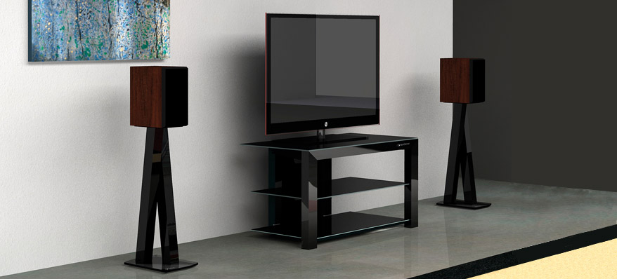 support ou pied d 39 enceintes comment choisir hifi lab. Black Bedroom Furniture Sets. Home Design Ideas