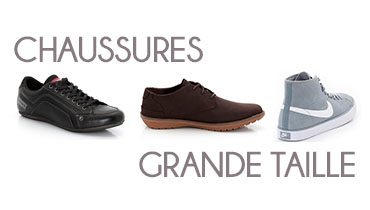 chaussures grande taille