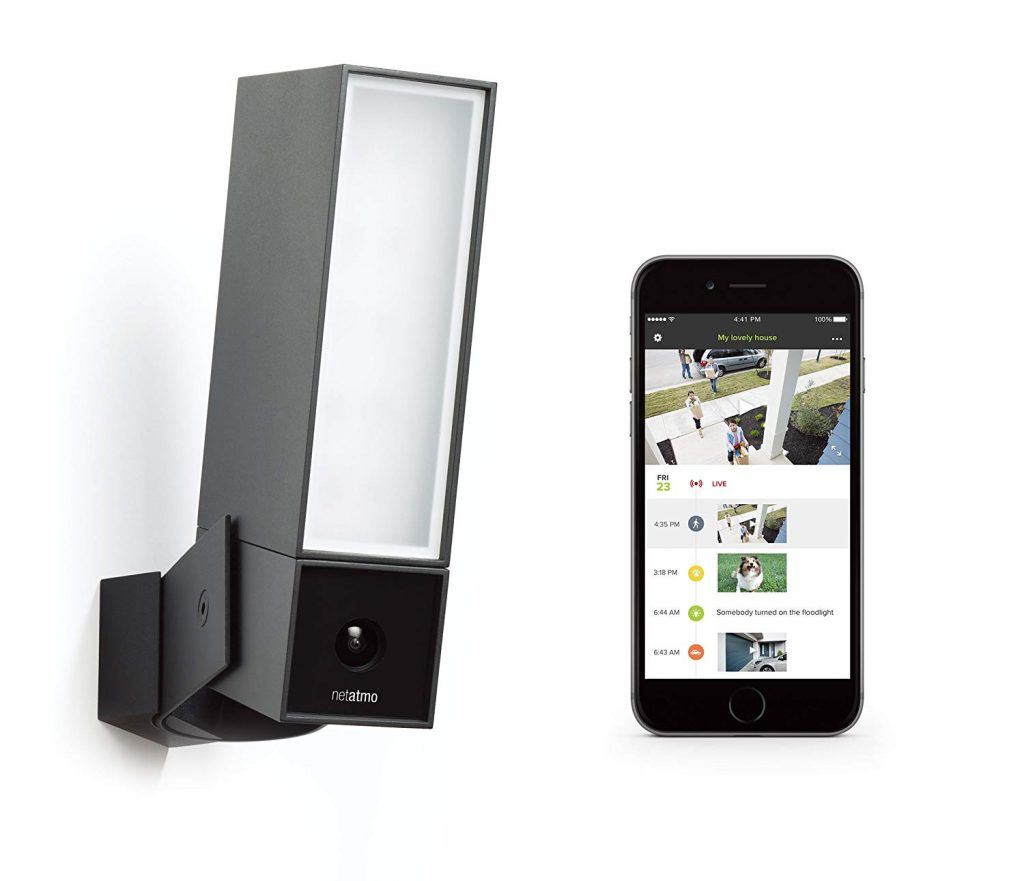 Caméra de Surveillance Extérieure Netatmo Presence