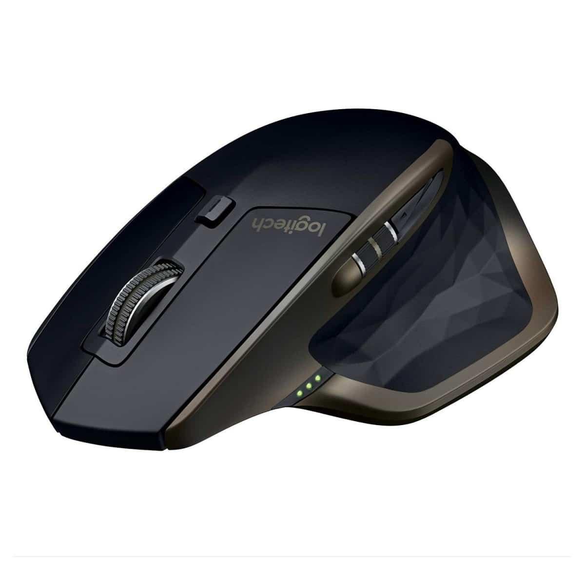 Souris Bluetooth Mx Master AMZ sans fil Logitech pour Windows et Mac - Noir