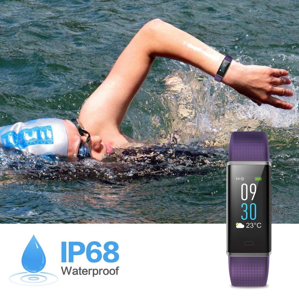 bracelet connecté sport IP68 natation