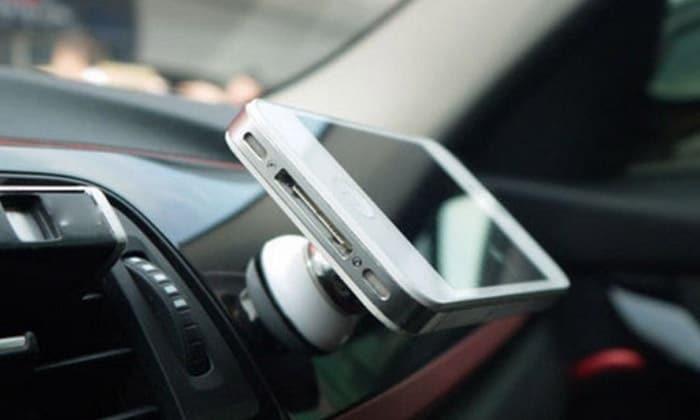support smartphone magnitiqu grille aeration
