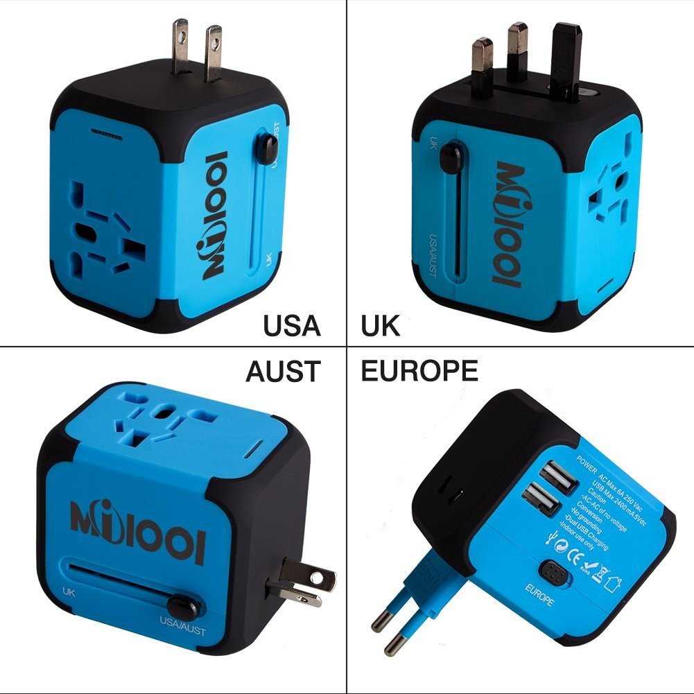 adaptateur prise anglaise universelle