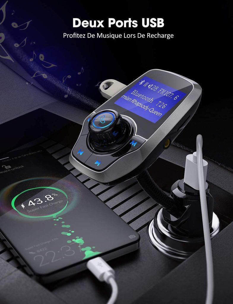 adaptateur bluetooth pour voiture