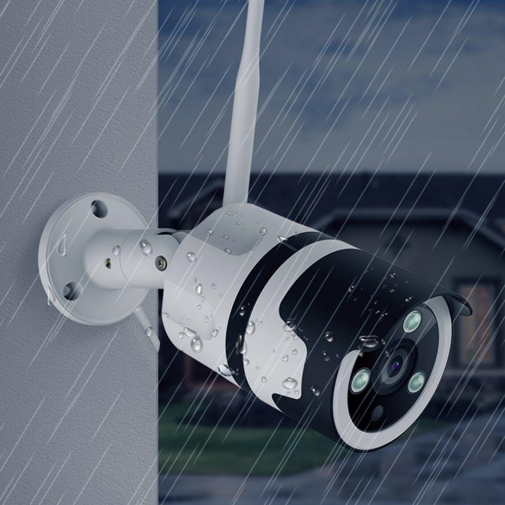 camera-ip-etanche-exterieur-compatible alexa-amazon