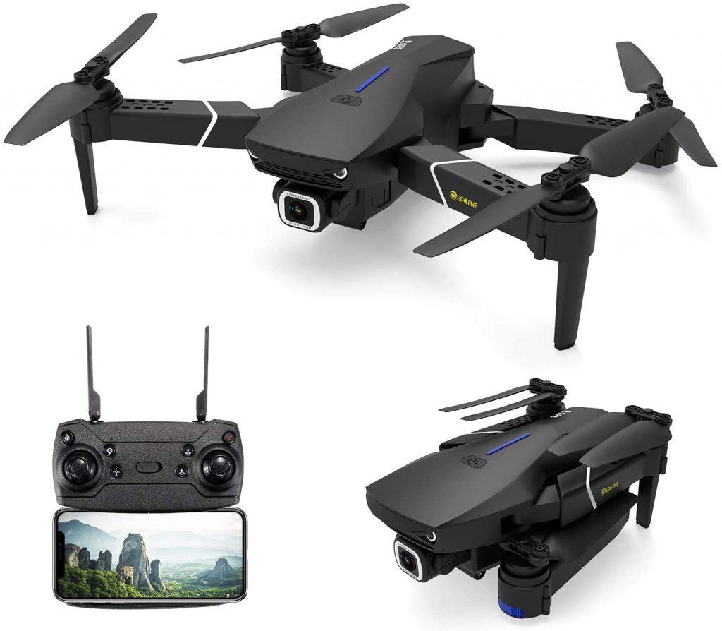 Drone pliable avec Camera 4k HD EACHINE E520S