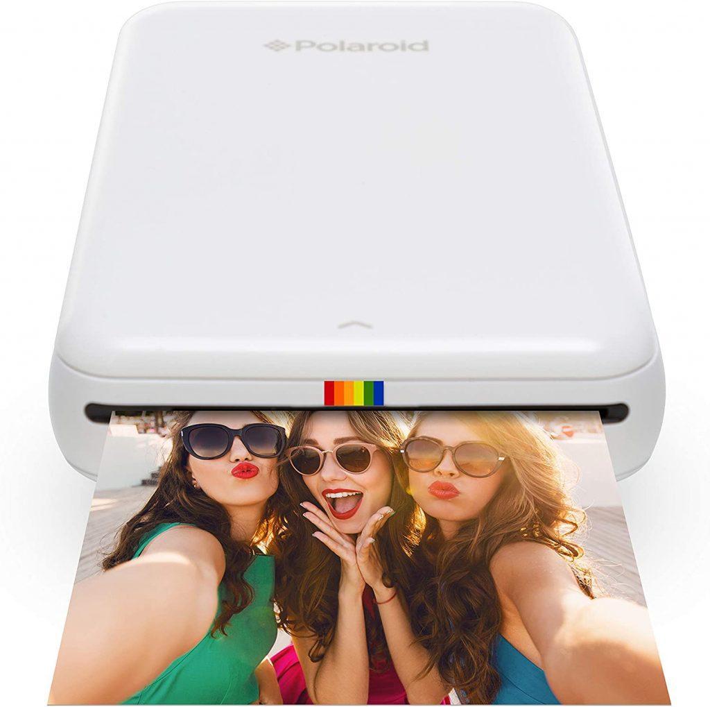 Polaroid Zip - Imprimante Équipée de la Technologie d'Impression sans Encre Zink