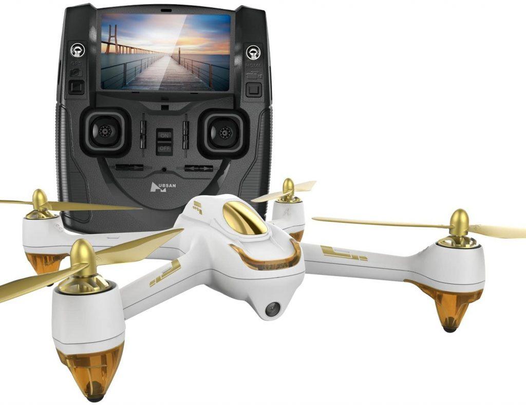 Quadricoptère Drone GPS Hubsan H501S X4 Brushless FPV