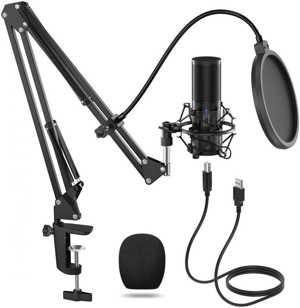 Microphone à Condensateur USB TONOR