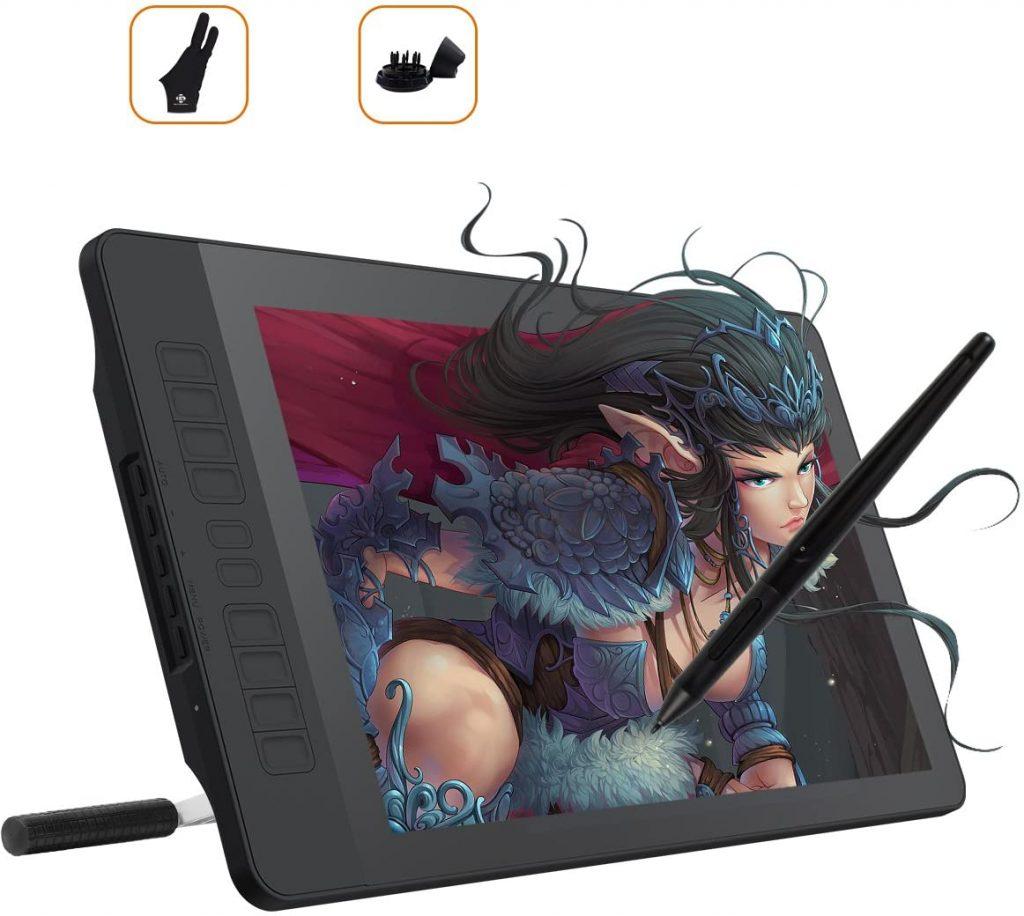 Tablette graphique avec écran GAOMON PD1560