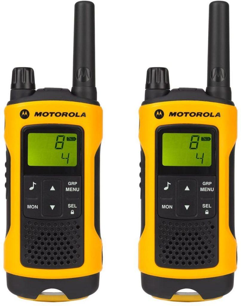 Talkies walkies Motorola T80EX portée en champs libre 10km