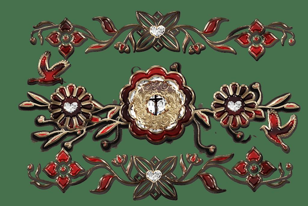 bijoux en croix