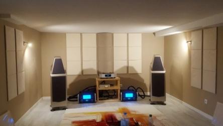 L'importance de l'acoustique pour un système hi-fi et home cinéma